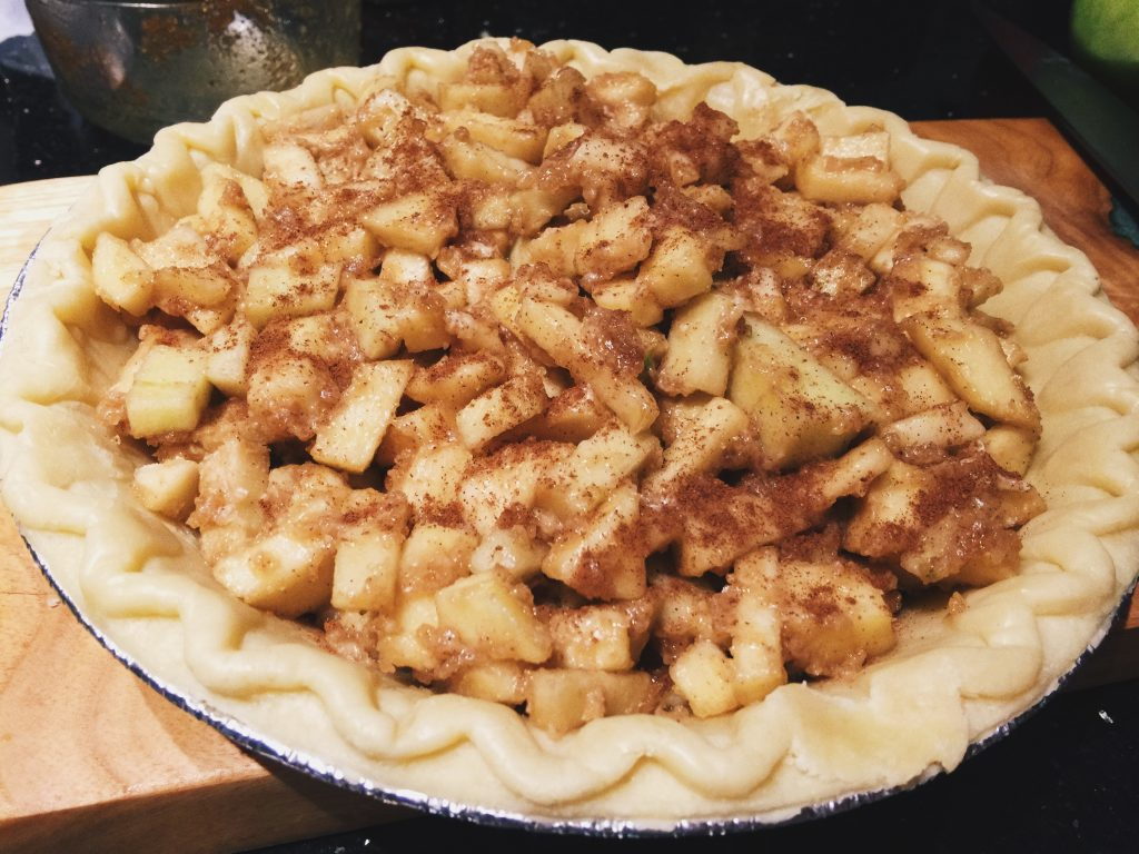 Last Minute Apple Pie & It's to die for!