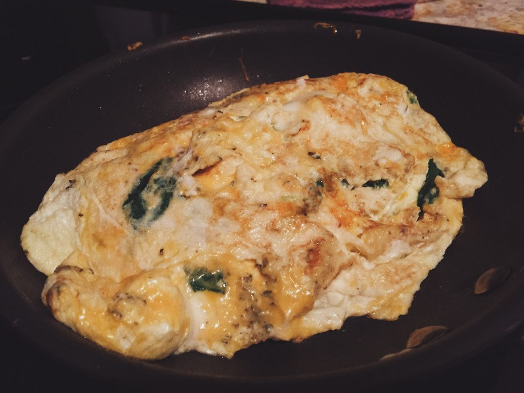 veggie and cheese omelet