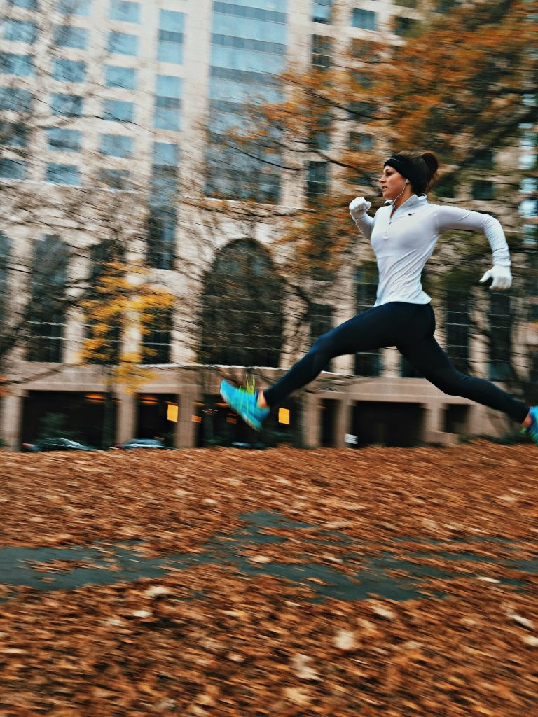 Winter running and half marathon training.