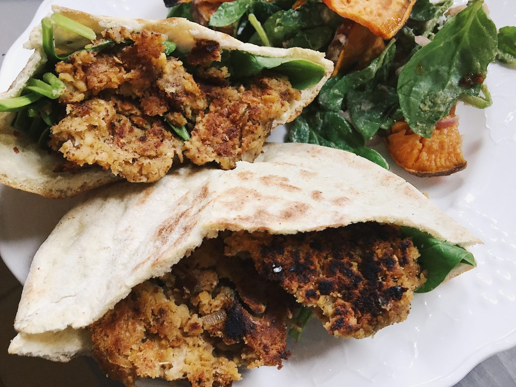 Blue apron falafel - The Falafels Were So Tasty And I Loved The Sweetness That The Dates Added If You Take A Look At Blue Apron S Vision Page You Ll See That They Are Working