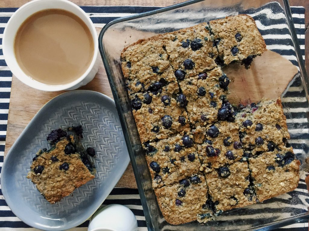 Blueberry Muffin Bars – Simply Taralynn