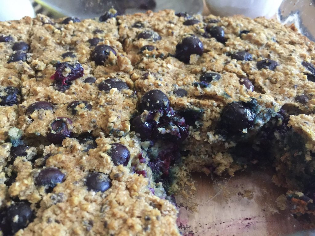 Blueberry Muffin Bars - Simply Taralynn