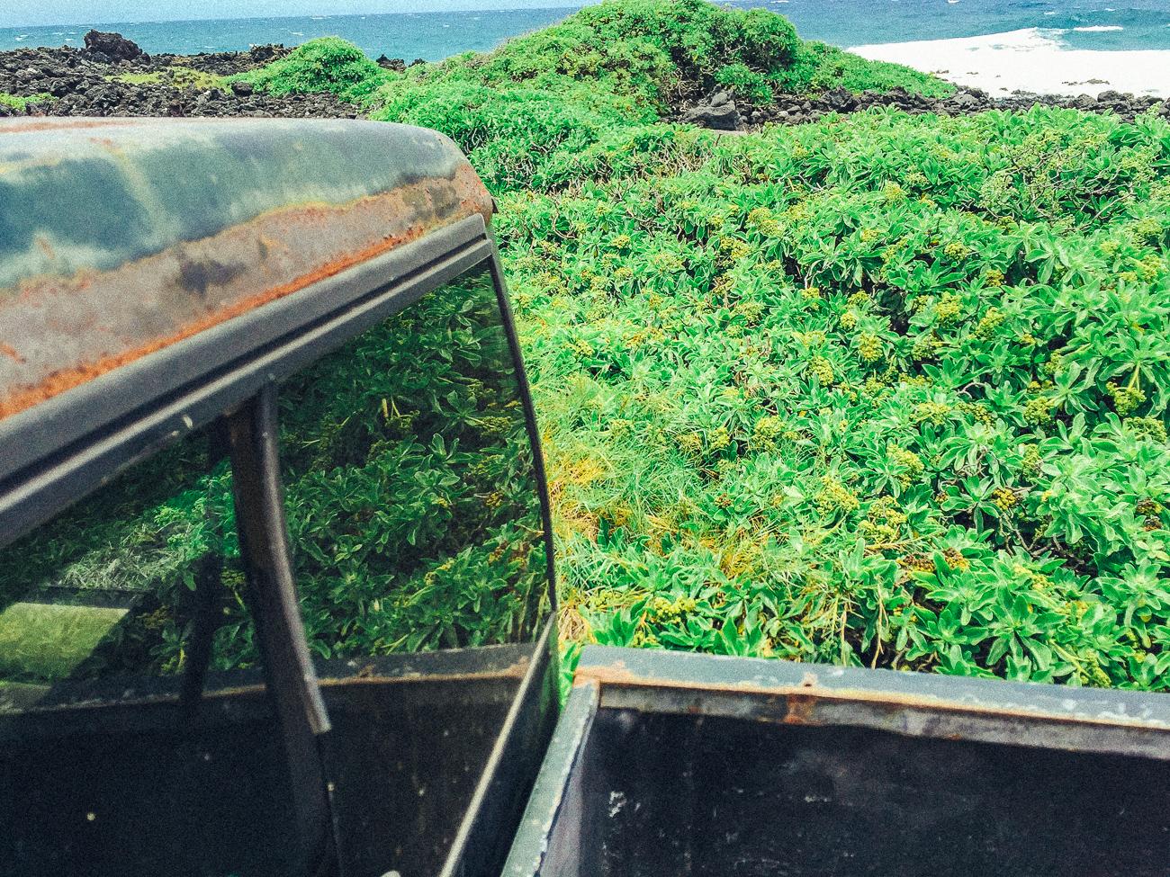 Green Sand Beach / South Point / Big Island Hawaii