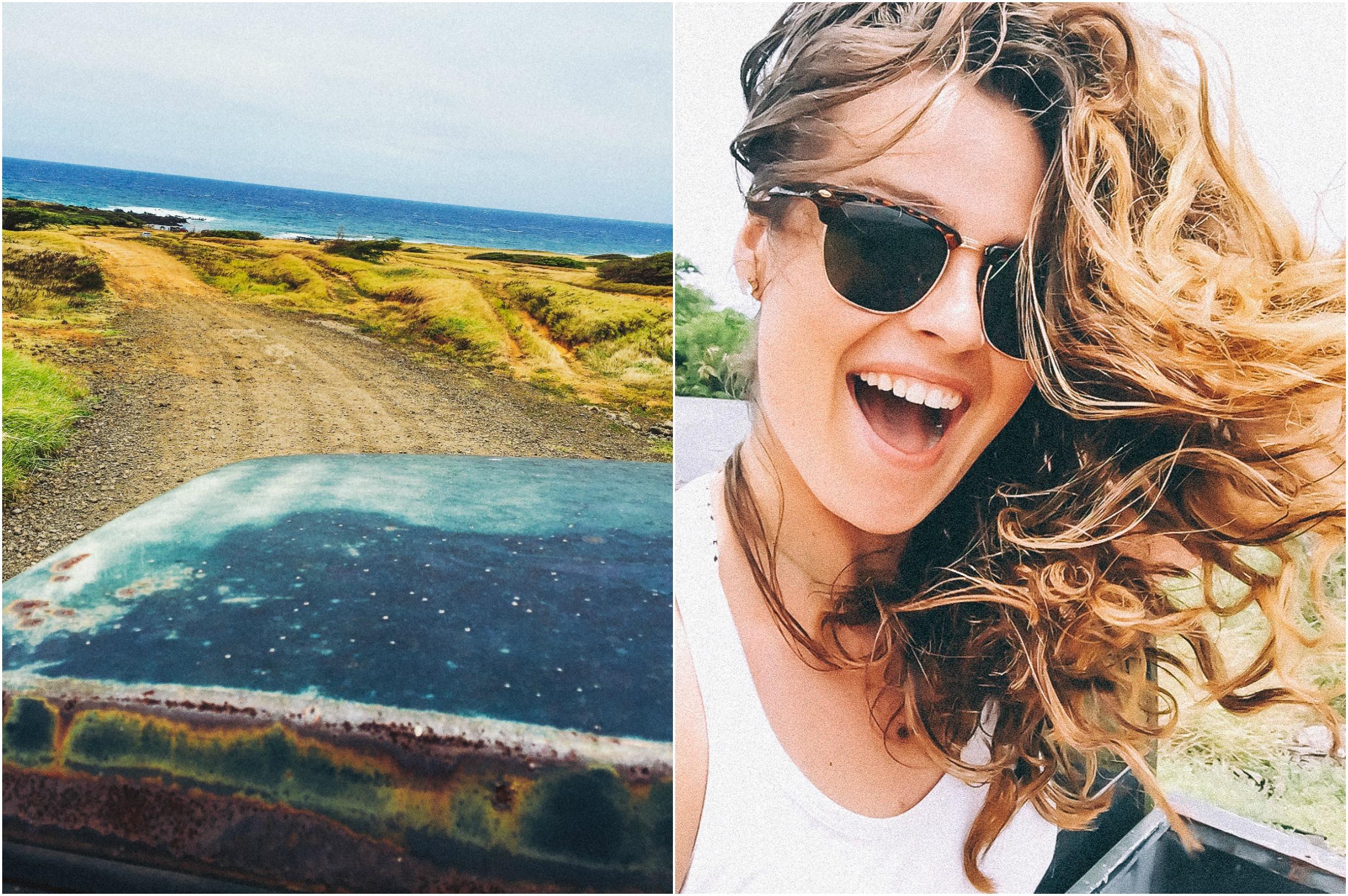 Green Sand Beach Big Island Hawaii