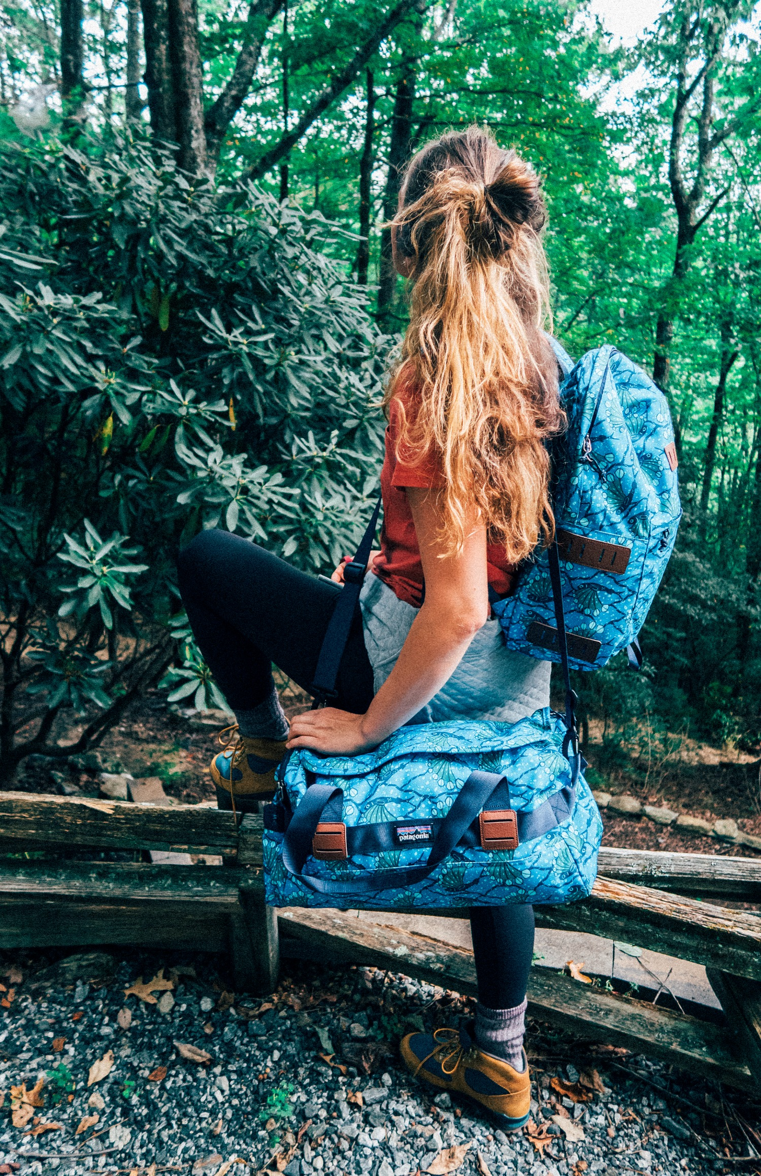 backcountry Patagonia bags what to wear hiking camping trip