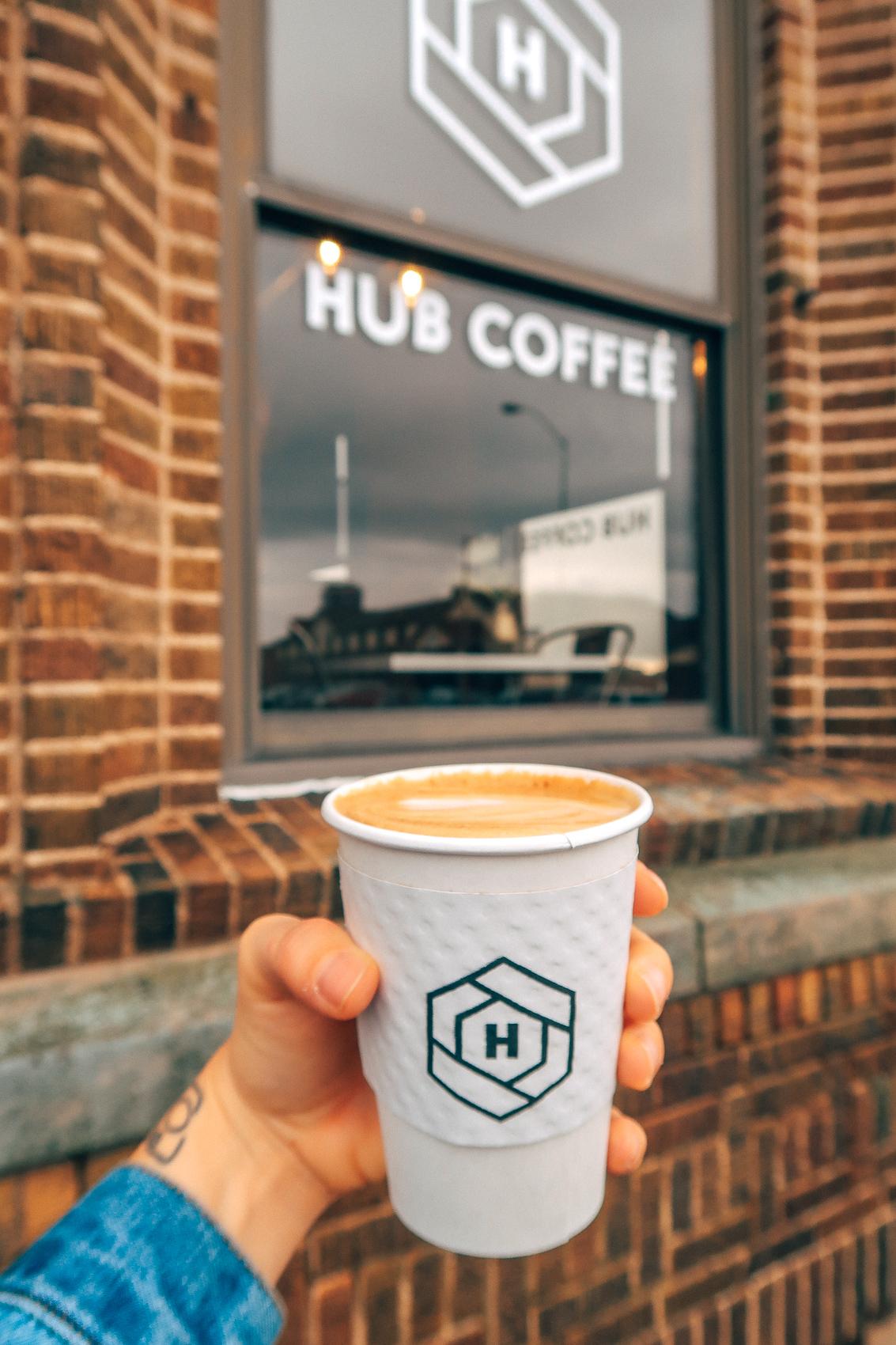 Hub Coffee Ottumwa Iowa Downtown