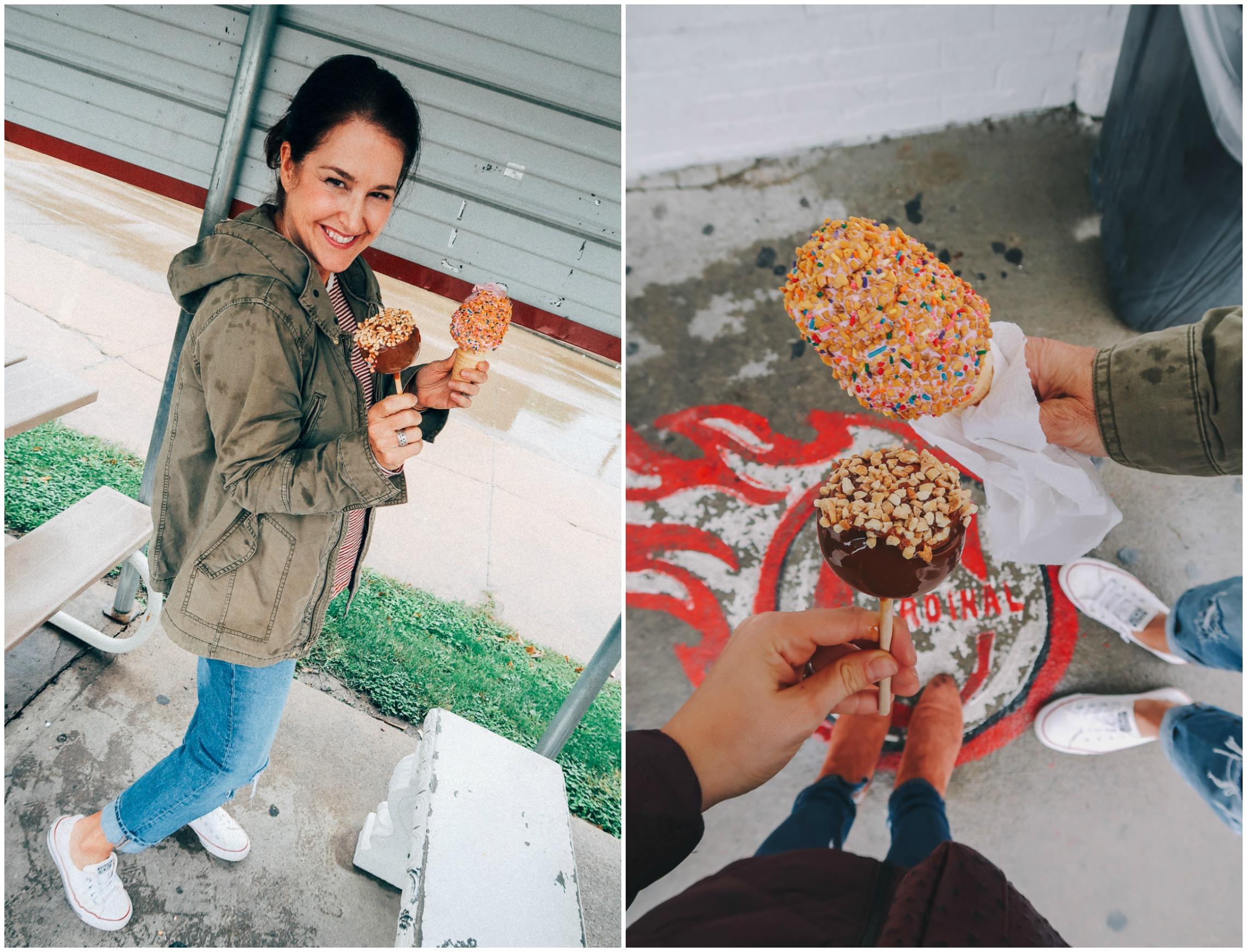 Grahams Ice Cream Creamy Freeze Ottumwa Iowa Crunch Cone