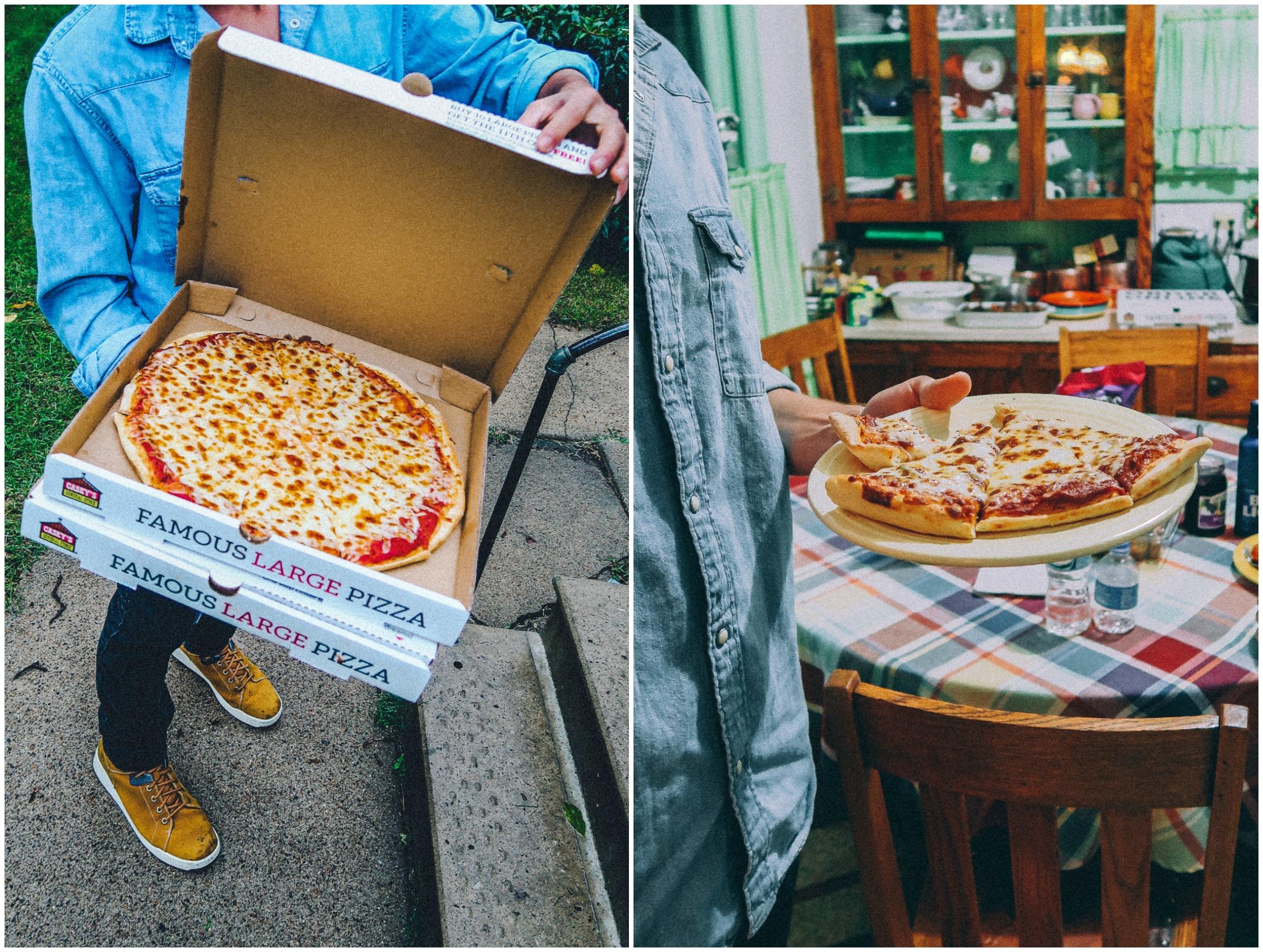 Casey's Pizza Casey's general Store pizza Iowa