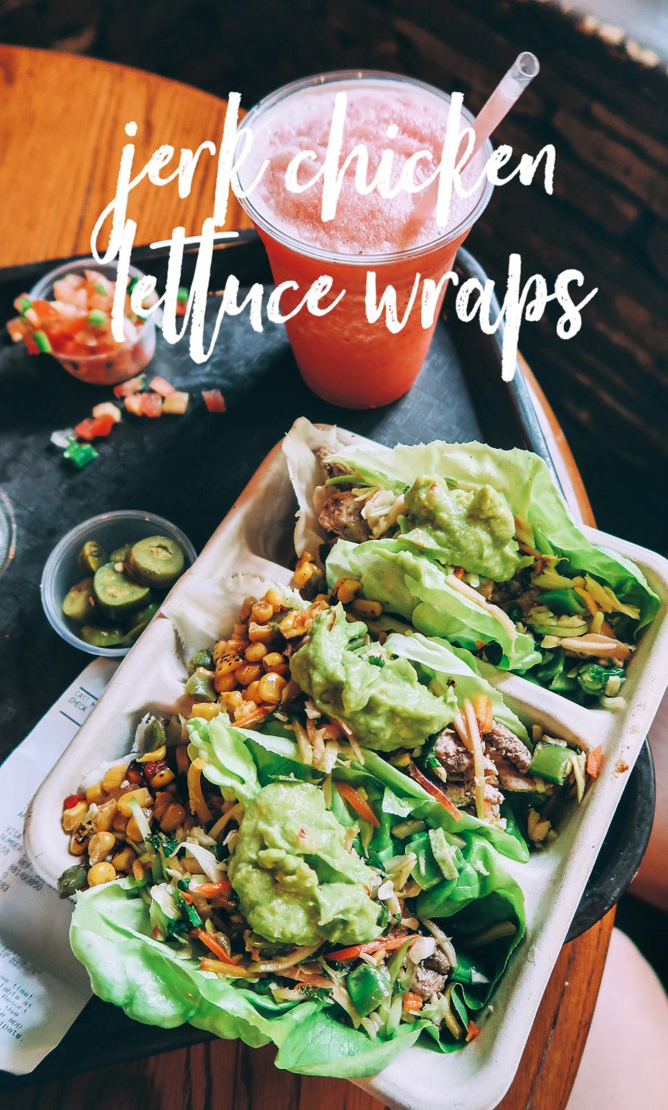 Tall Tale Inn And Cafe Pecos Bill Disney Magic Kingdom Food Jerk Chicken Lettuce Wraps Gluten Free