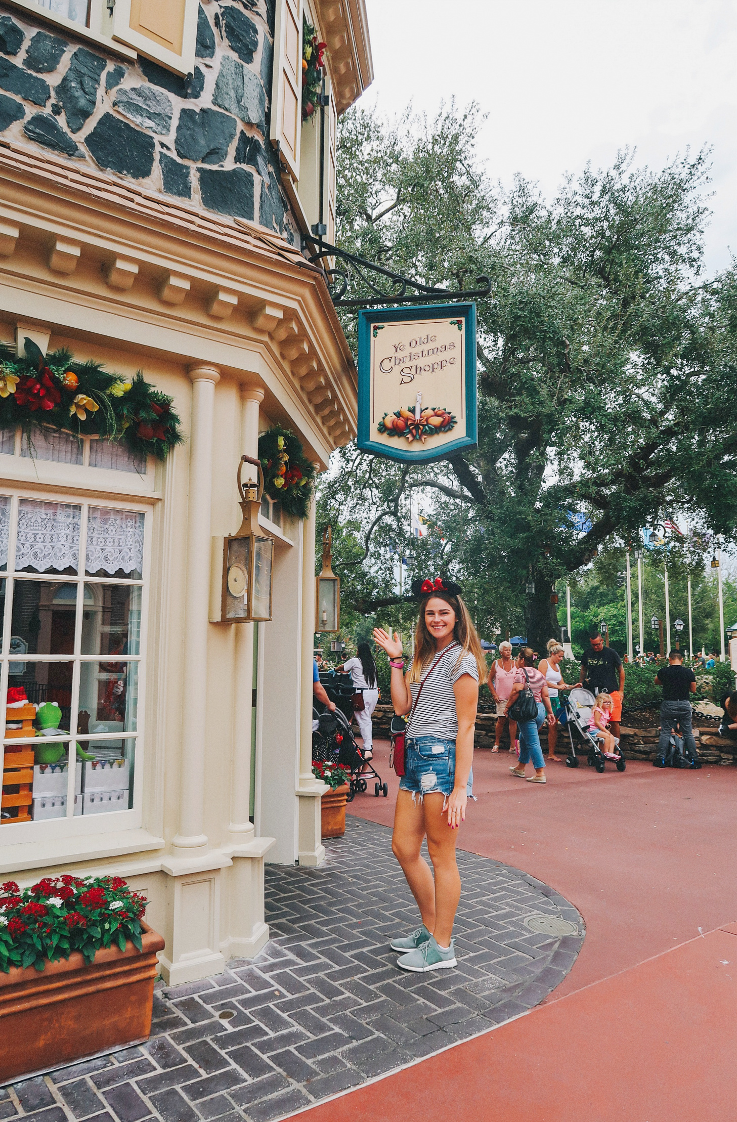 Our Day at Disney World's Magic Kingdom Christmas Store