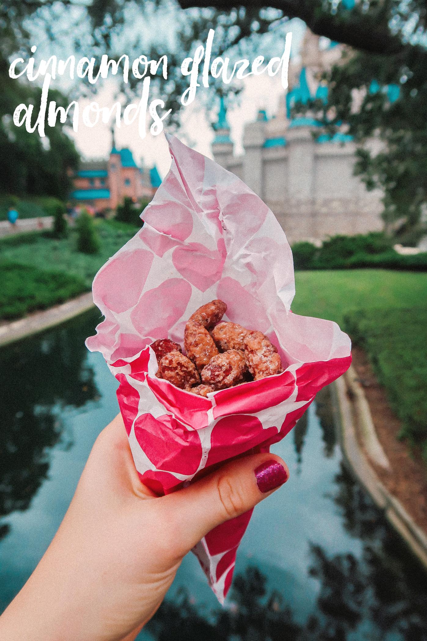 Cinnamon Glazed Almonds Walt Disney World Magic Kingdom Vegan Gluten Free Dairy free