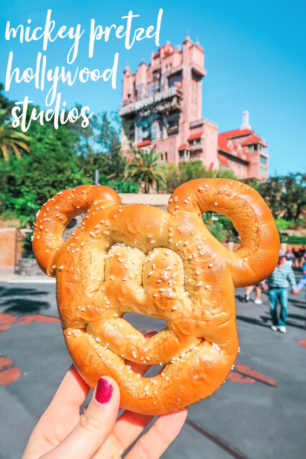 Travel Disney's Universal Studios Pretzel Mickey