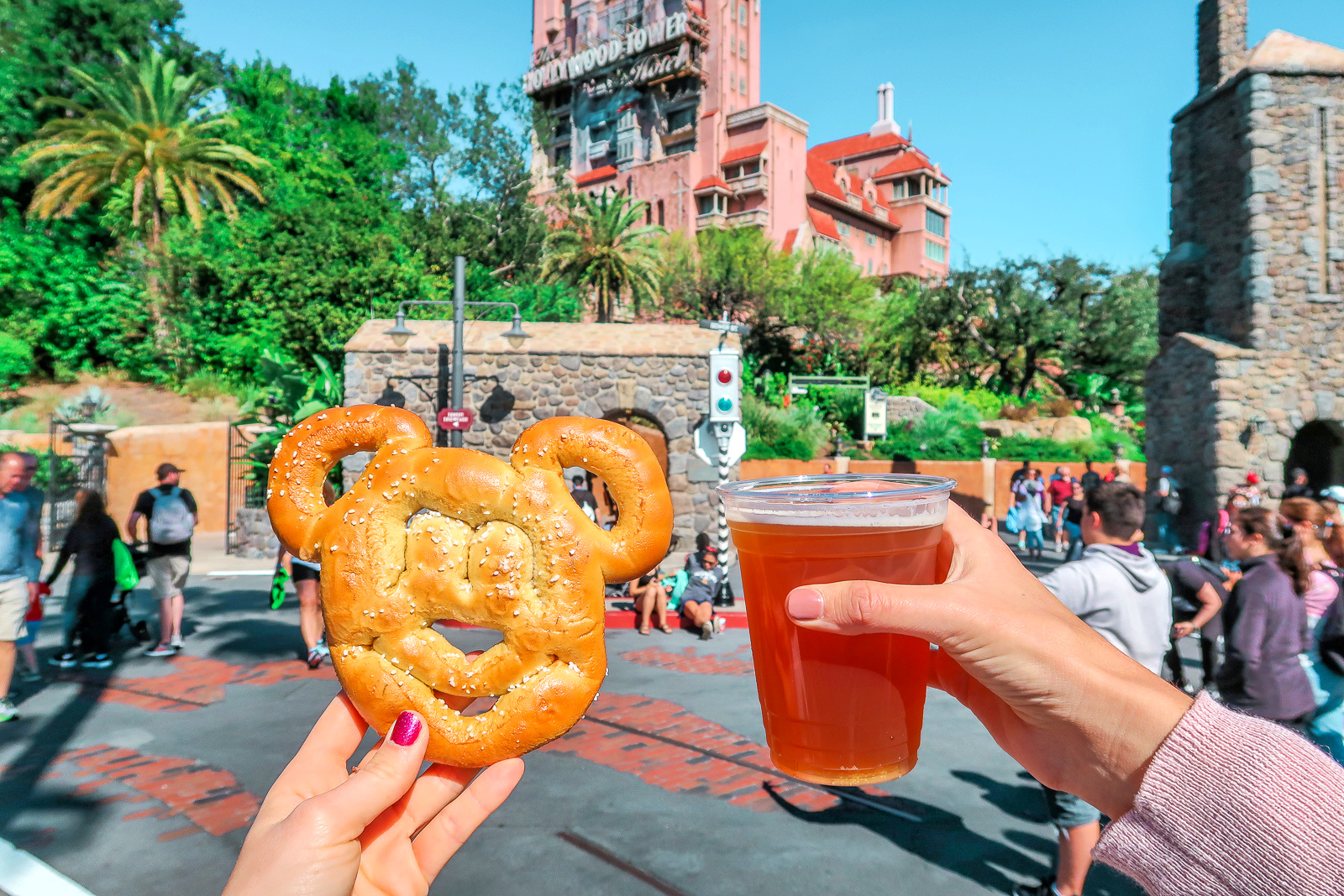 Mickey Mouse Pretzel and Beer Disney's Universal Studios