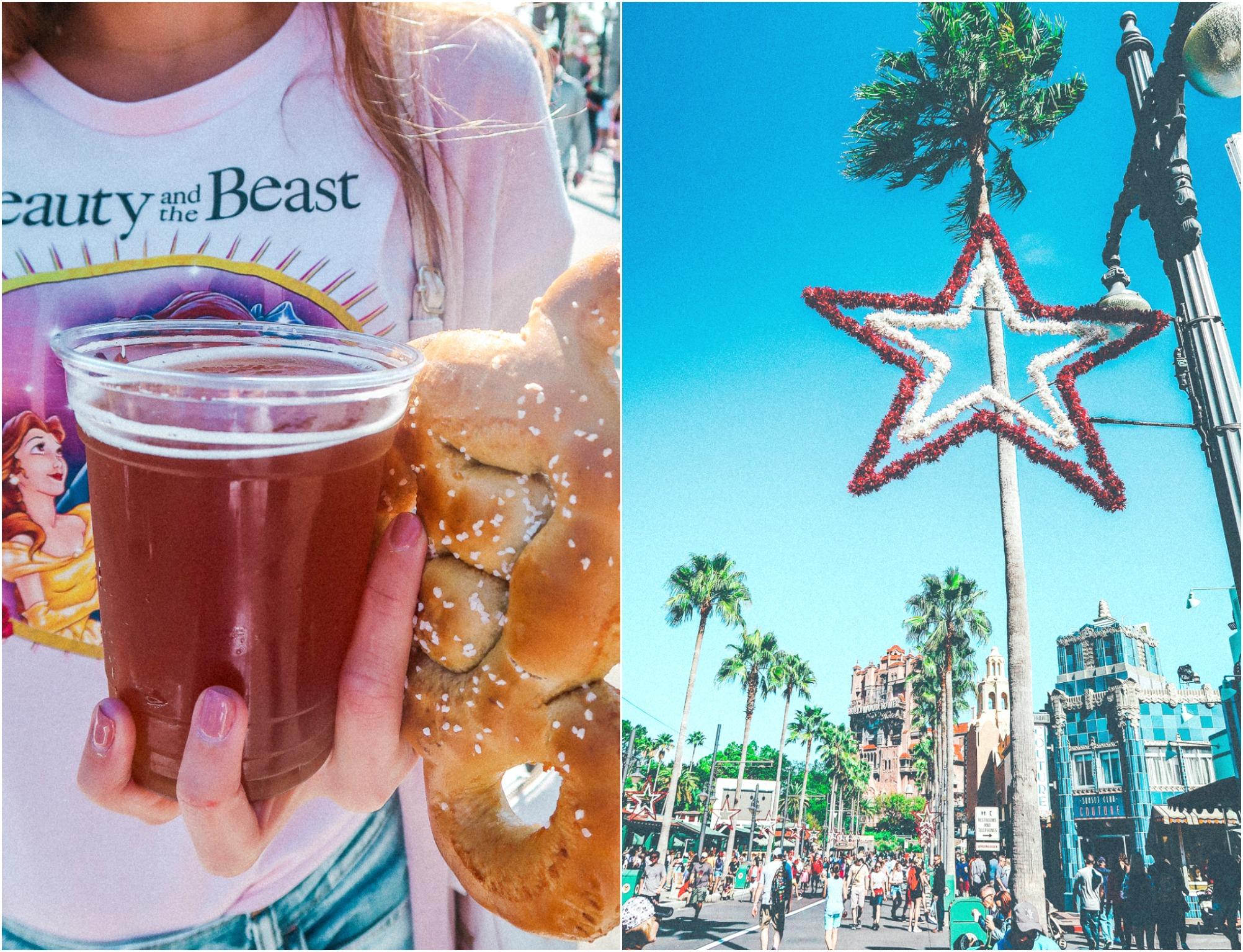 Mickey Mouse Pretzel and Beer Disney's Universal Studios