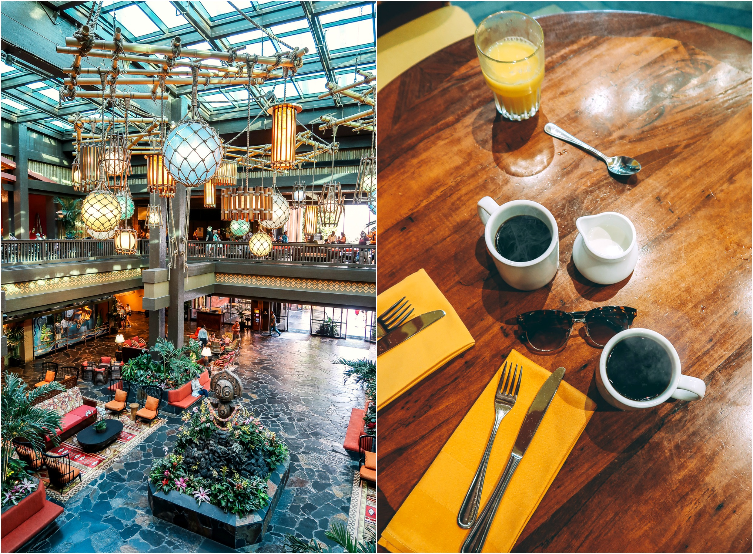 Kona Cafe at the Polynesian Village Resort best coffee at disney world