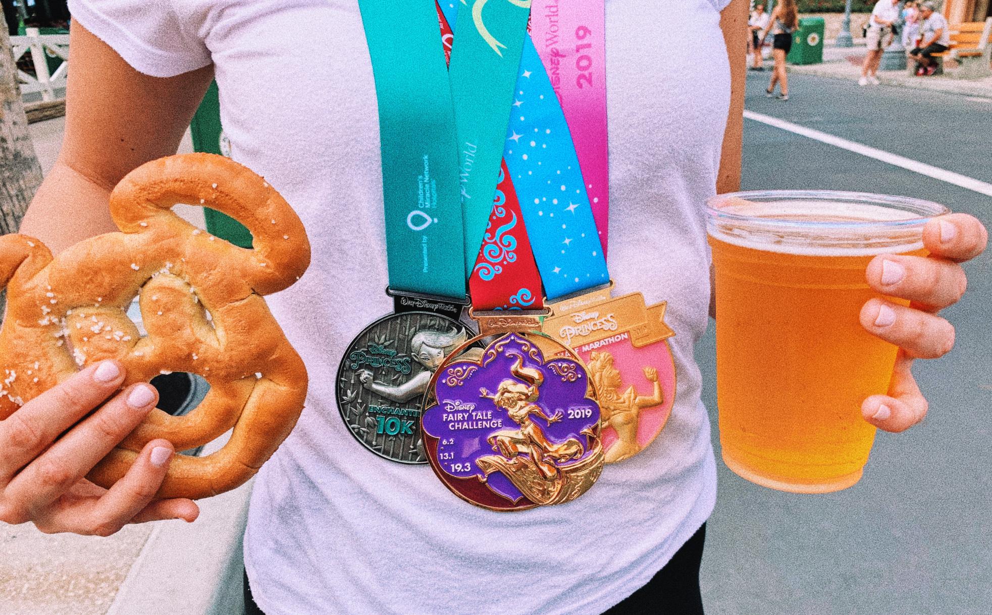 Disney Walt Disney World Itinerary Hollywood Studios pretzels and beer