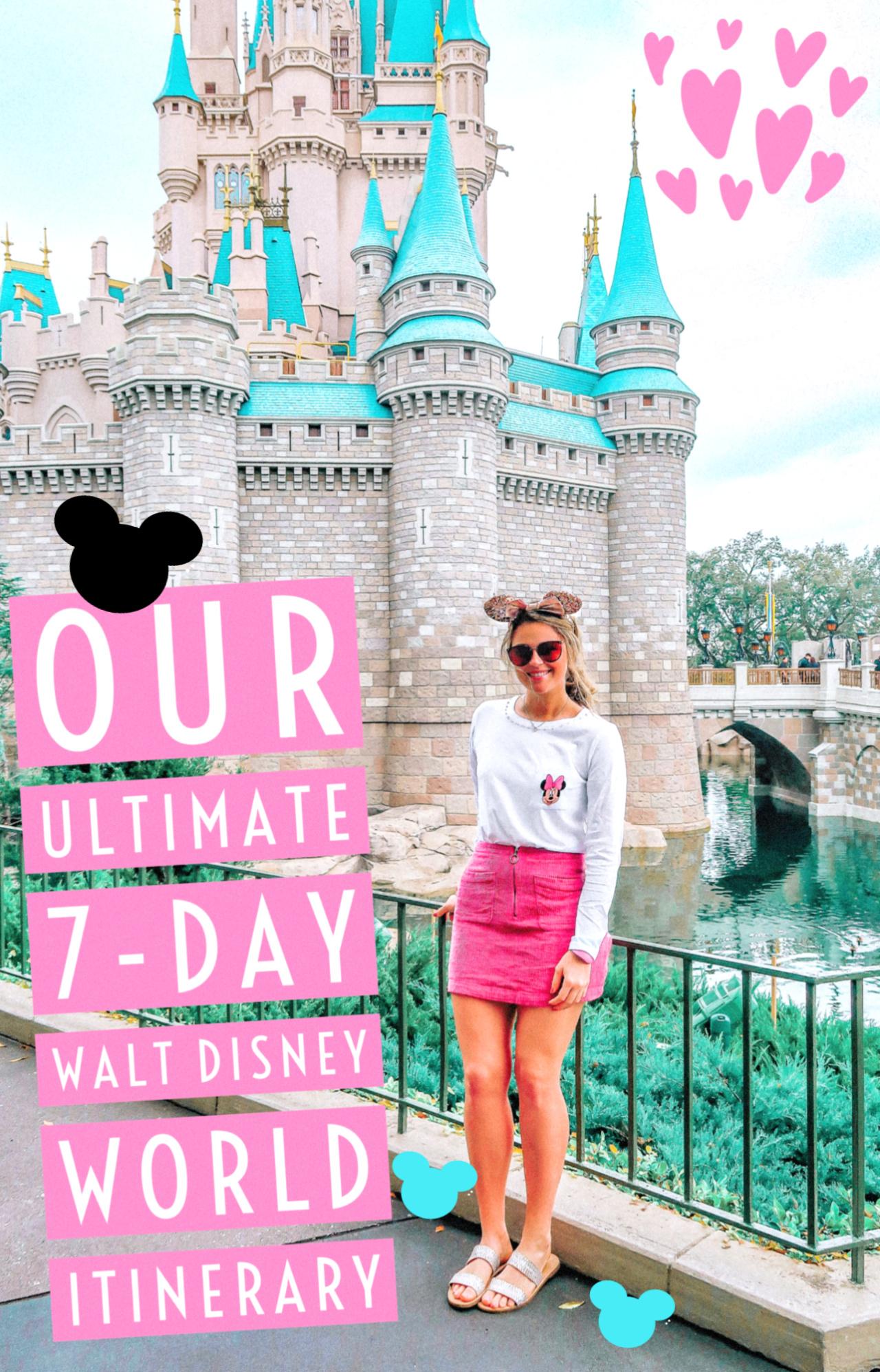 The Ultimate Week Walt Disney World Itinerary Travel