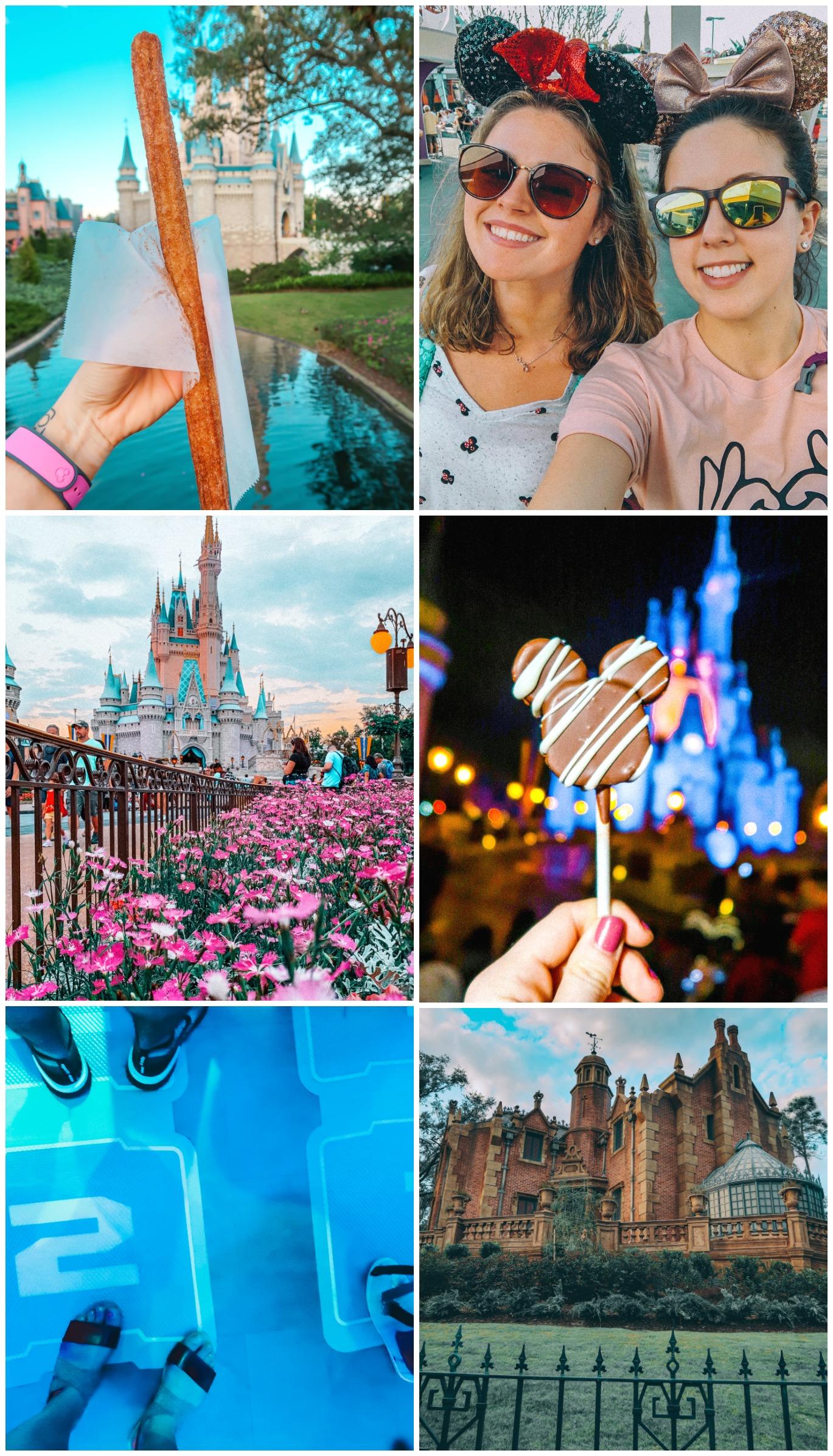 The Ultimate Week Walt Disney World Itinerary Travel Magic Kingdom churro cake pop fast passes
