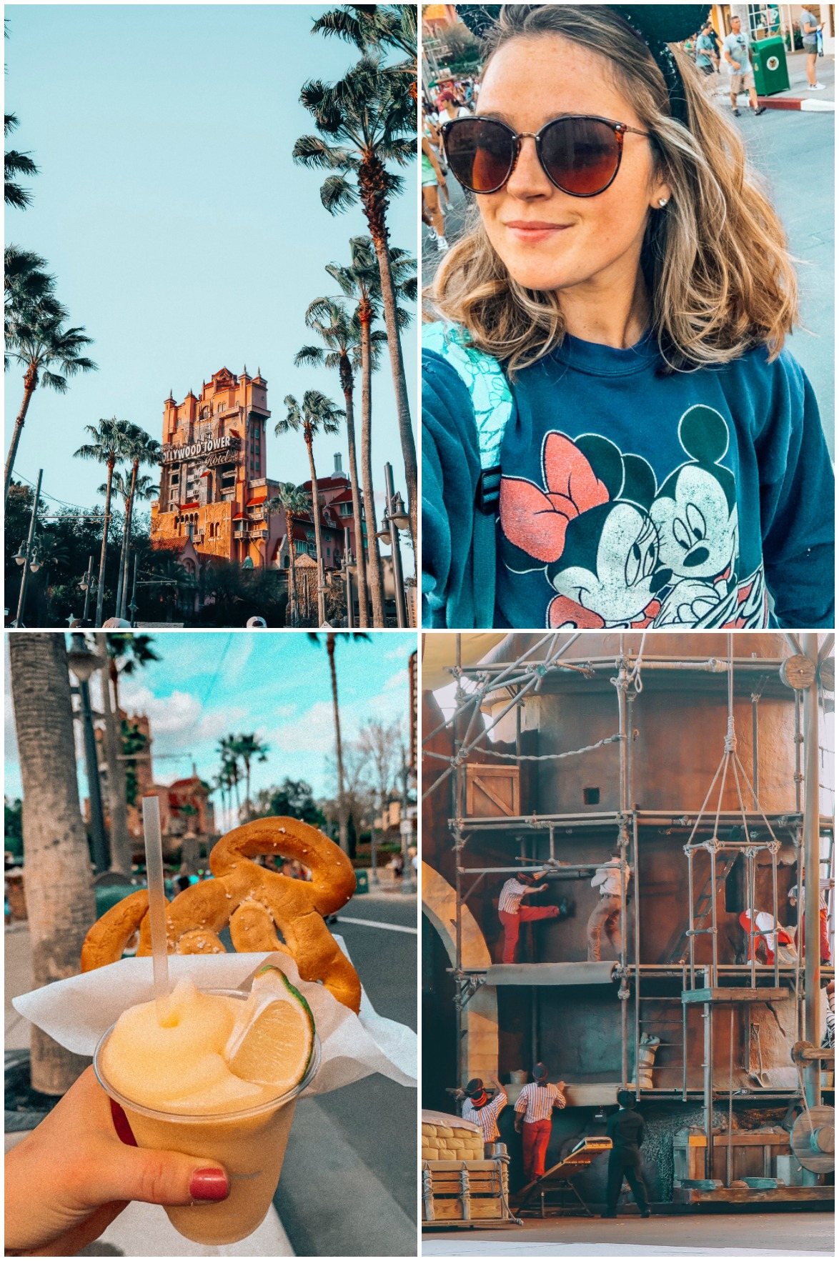What I wore to Disney Walt Disney World Itinerary Hollywood Studios