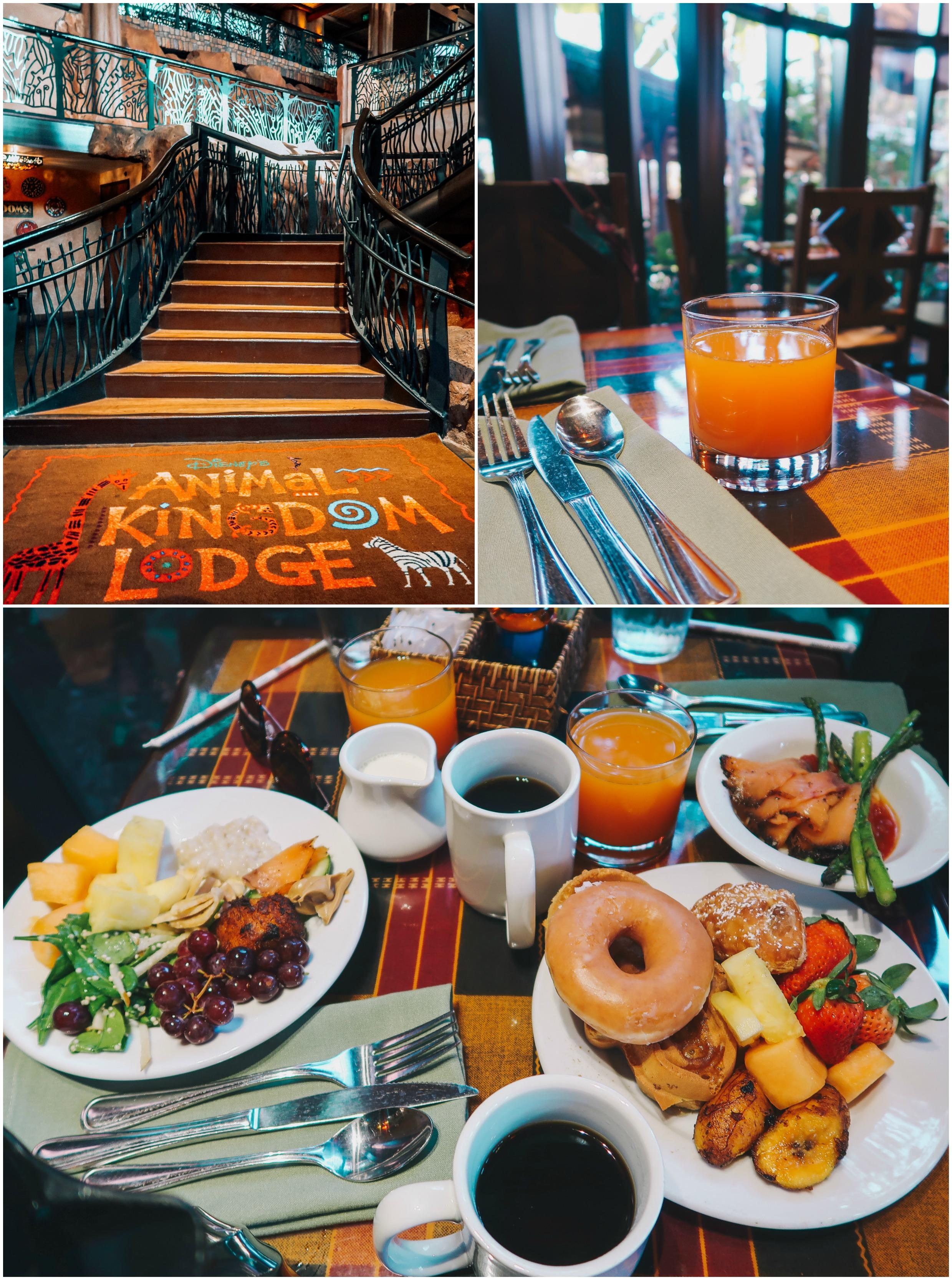 breakfast at boma animal kingdom resort walt disney world travel plans