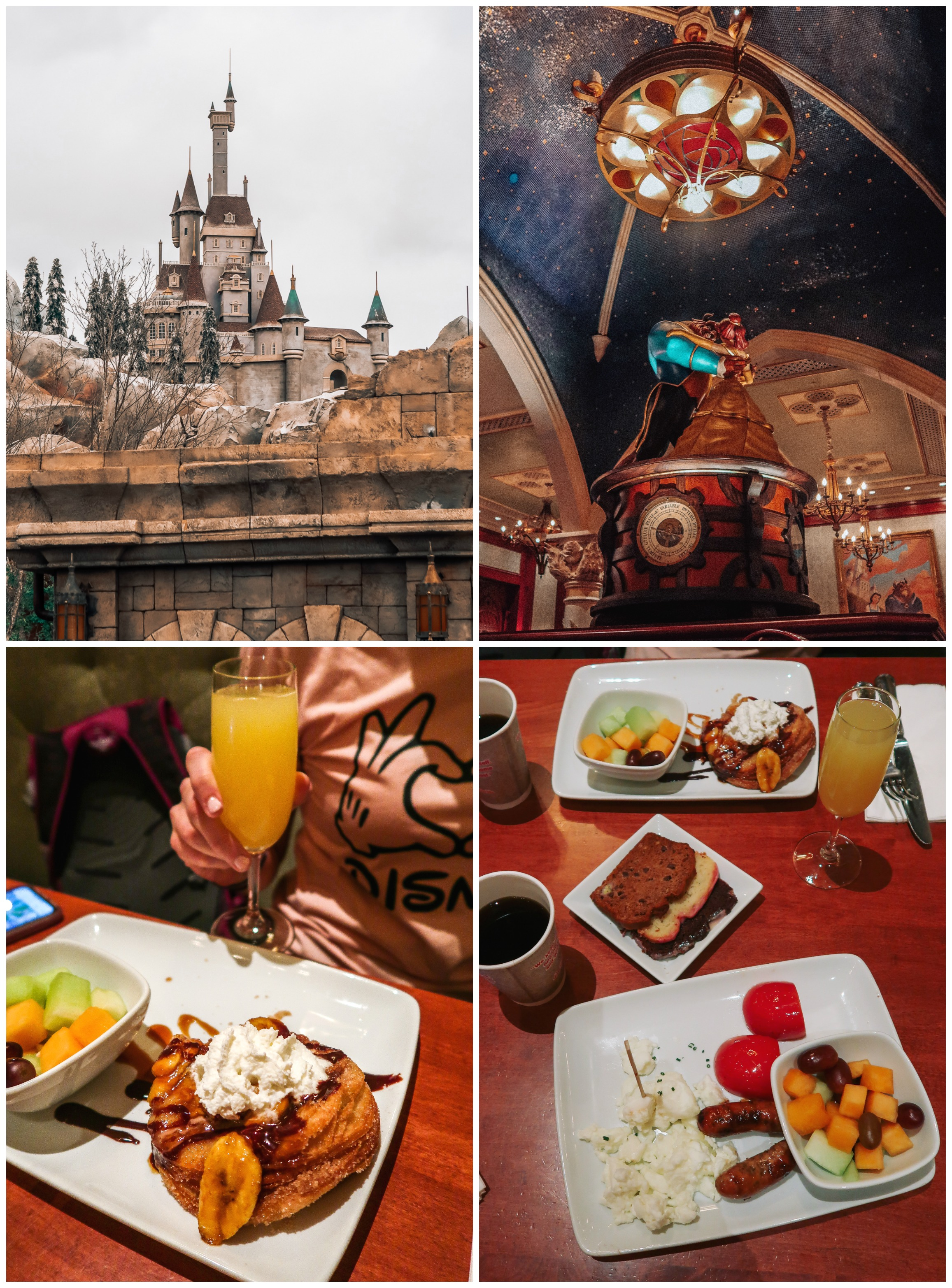 Itinerary Walt Disney World Breakfast Be our Guest