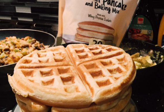 healthy protein pancake post run