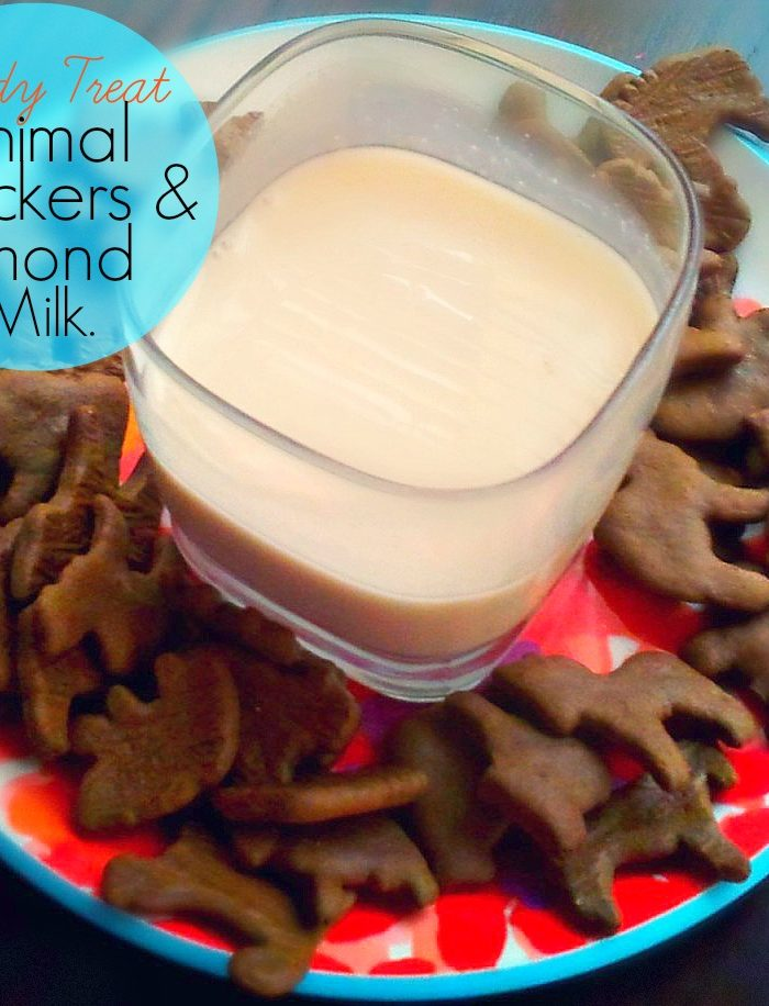 Study Treat: Animal Crackers & Almond Milk