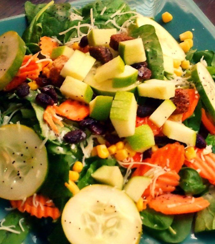 Lemon Poppy Seed Salad