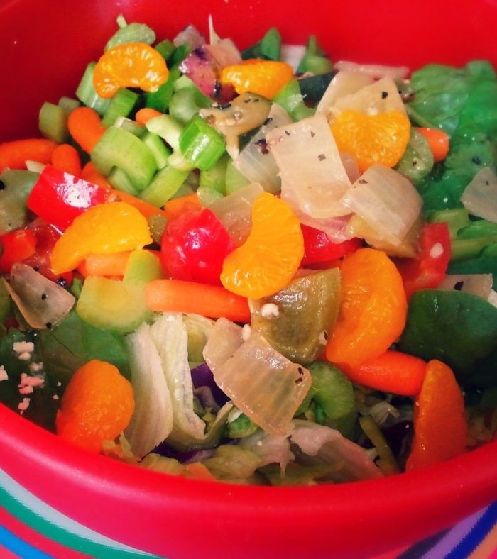 Fruity & Fun Side Dinner Salad