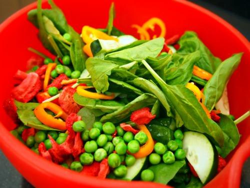 Fresh Vegetable Side Salad