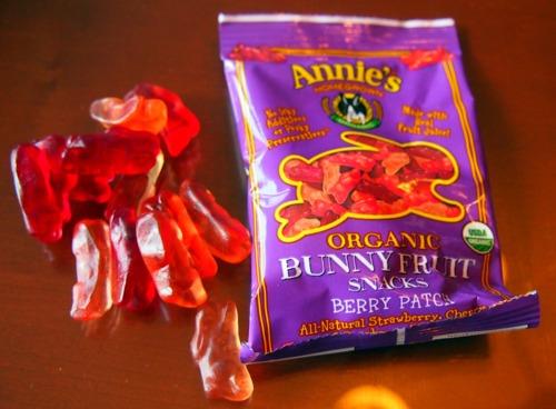 Annie's Organic Bunny Fruit.