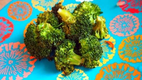 Baked Seasoned Broccoli