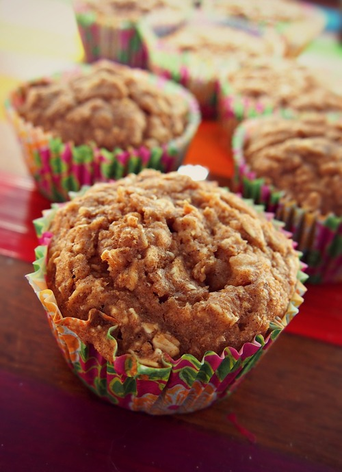 60 Calorie Apple Pie Muffins