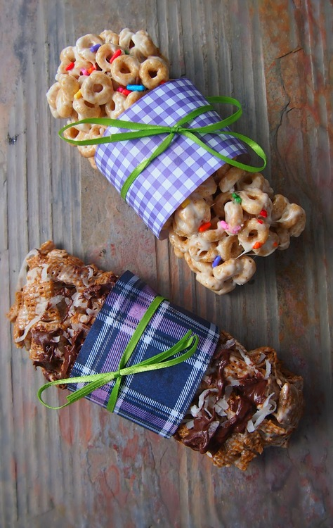 Cereal Bars – On The Go Breakfast!