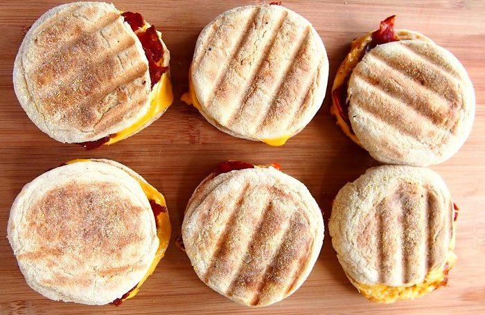 Breakfast Sandwiches To-Go All Week Long!