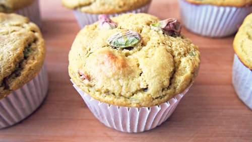 Avocado Pistachio Almond Muffins! Gluten-Free, Protein-Packed, & Vegan Swaps Included!