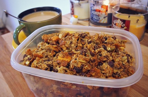 Healthy Homemade Granola Clusters!
