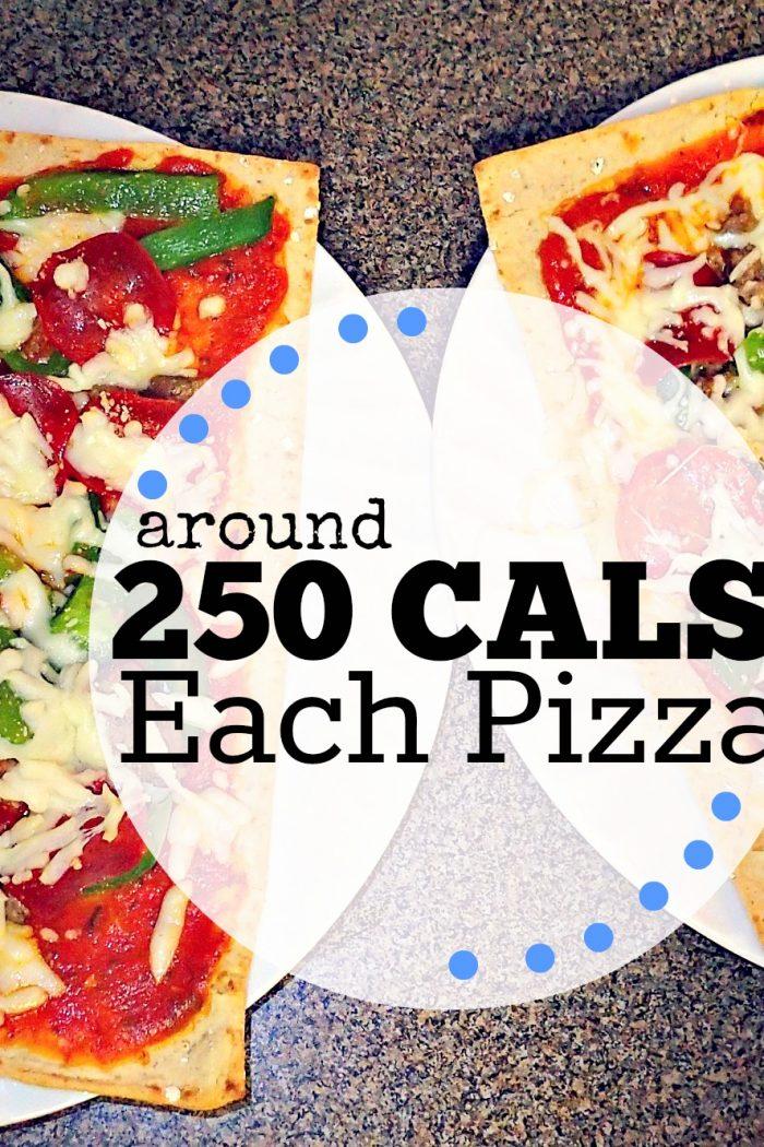Low Calorie Flatbread Pizzas!