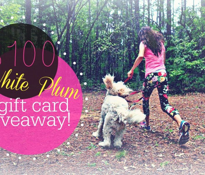 $100 White Plum Gift Card Giveaway!