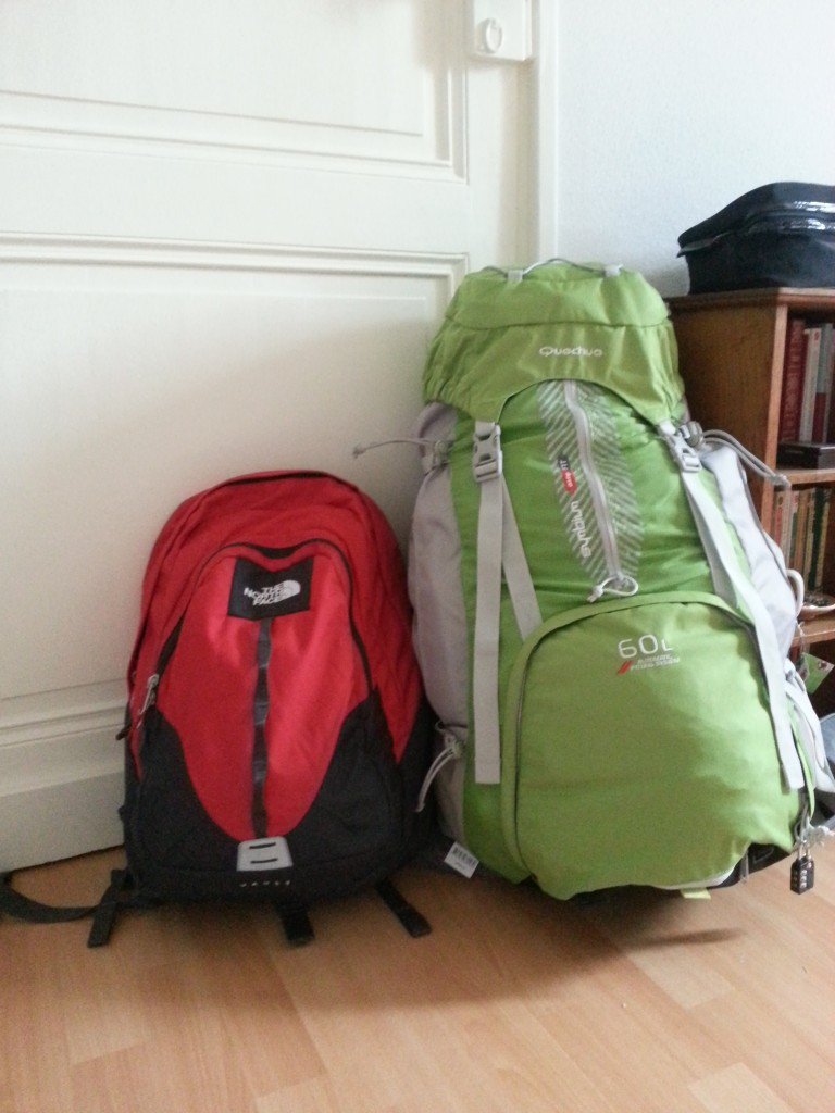 Bags ready