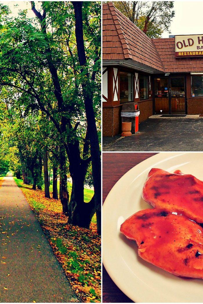Old Hickory Bar-B-Q & A Fall Walk