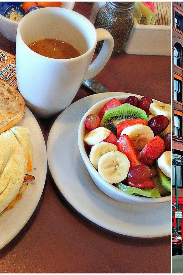 Breakfast at First Watch in Dayton, OH.
