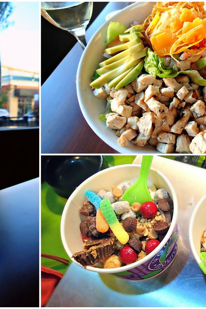 Happy Hour, Dinner, Froyo & Books!
