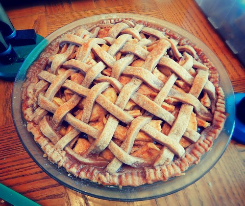 The BEST Apple Pie I Ever Ate. This One Is For You, Grandpa!