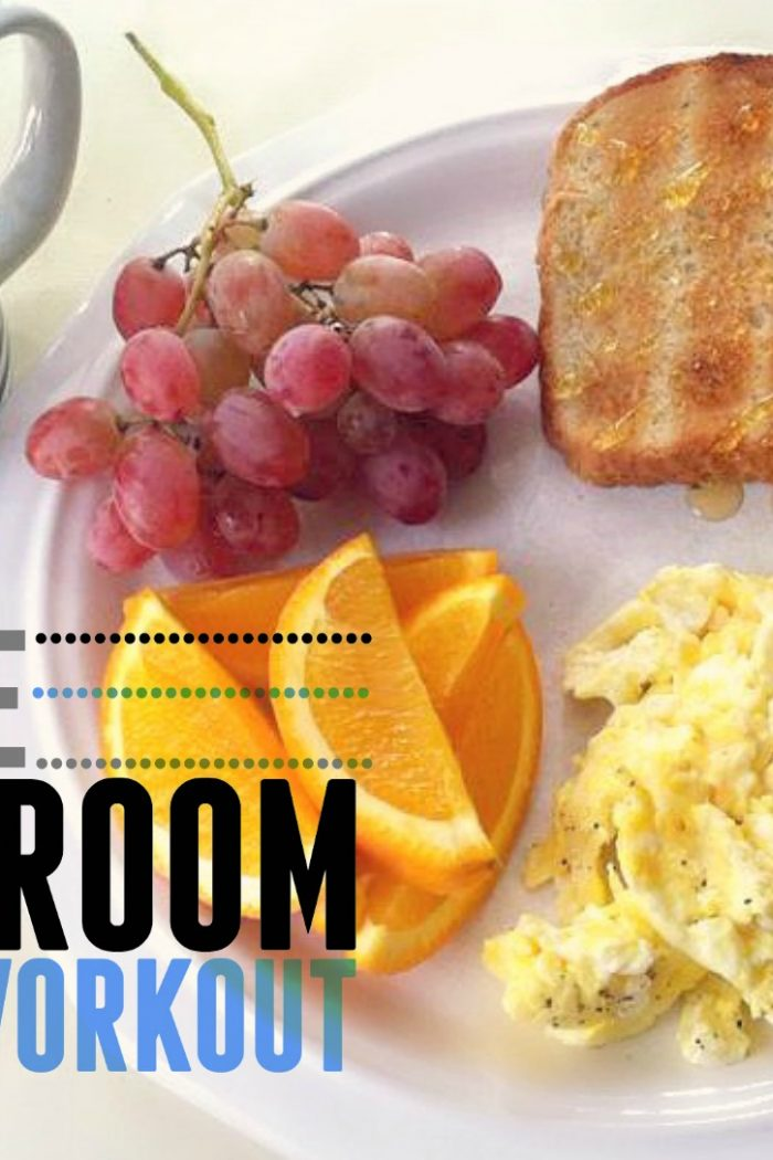 Breakfast & A  30 Minute Living Room Workout!