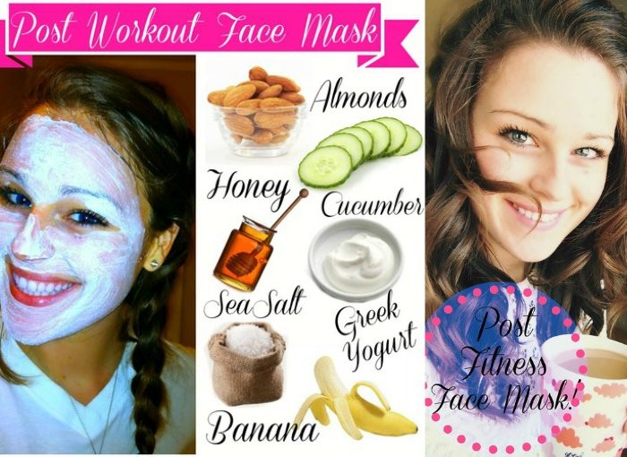 Six Ingredient Post Workout Face Mask!