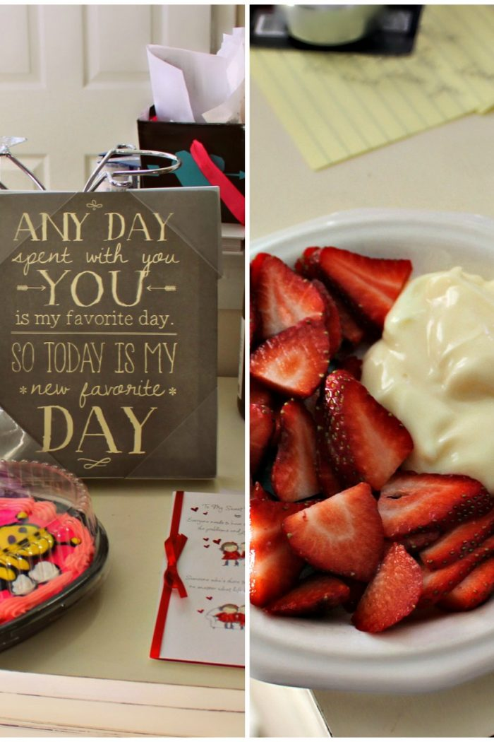 Vanilla Pudding W/Strawberries & Meals