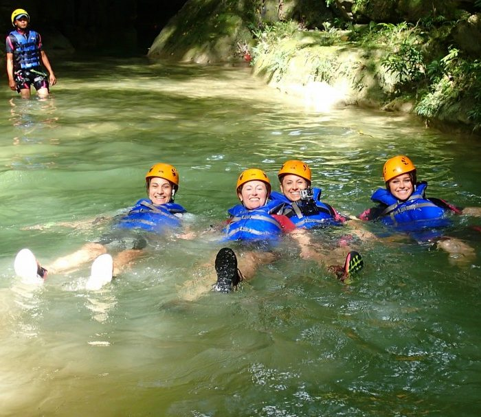 Zip-lining, Repelling, Cliff Jumping, & Dominican Food!
