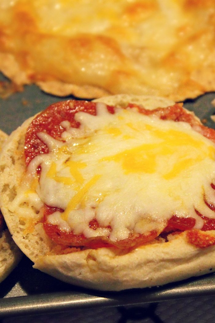 Mock Pizza & Fried Onion Pasta Salad