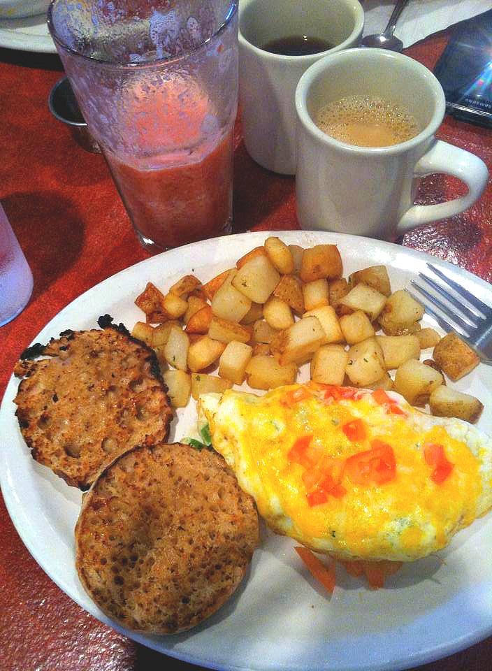 Breakfast Charlotte Le Peep